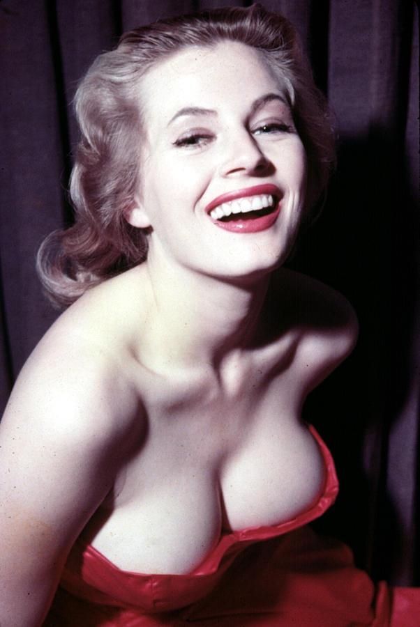 Anita Ekberg, Circa Late 1950s Photograph