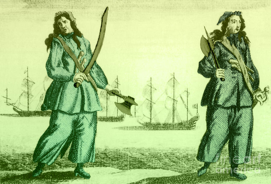 Anne Bonny And Mary Read, 18th Century Photograph