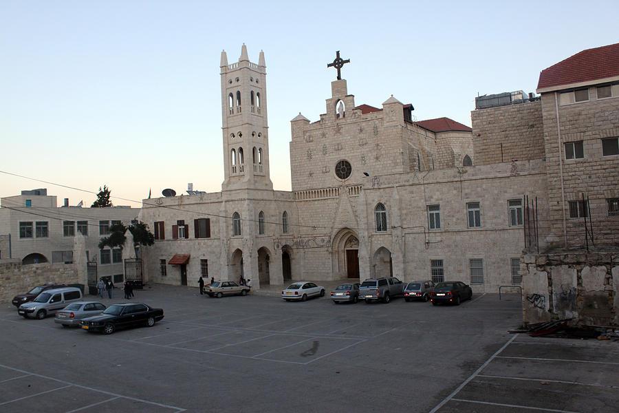 Annunciation Photograph - Annunciation Latin Church In Beit Jala by Munir Alawi