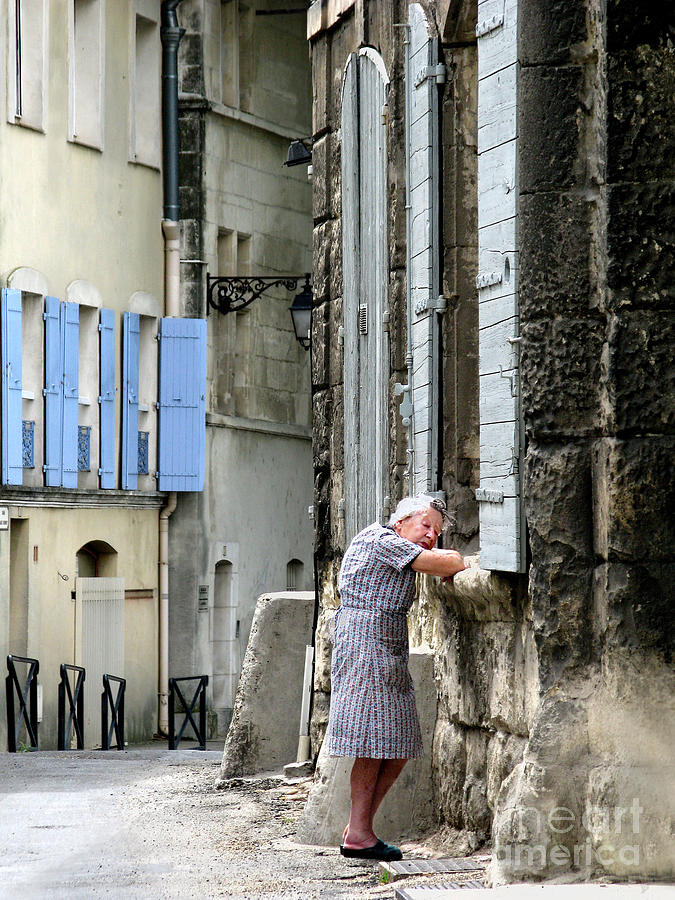 France Photograph - Another Nap.arles.france by Jennie Breeze