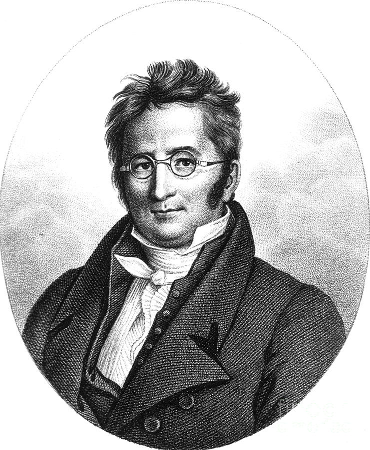 A.p. De Candolle, Swiss Botanist Photograph