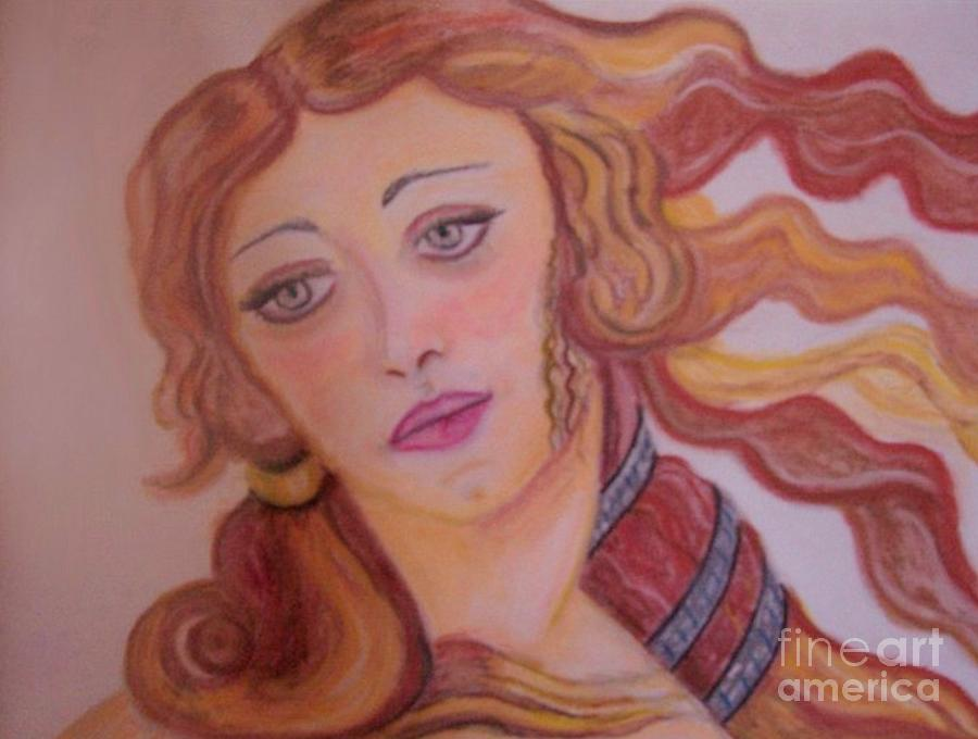Aphrodite Goddess Of Love Painting