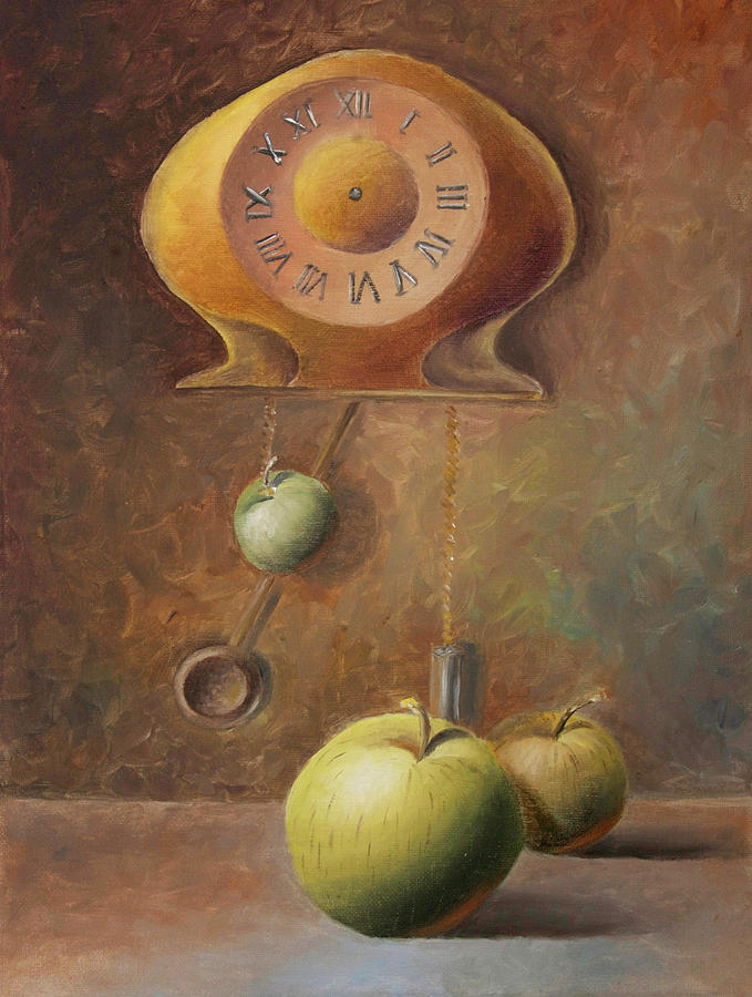 Apple Time Painting  - Apple Time Fine Art Print