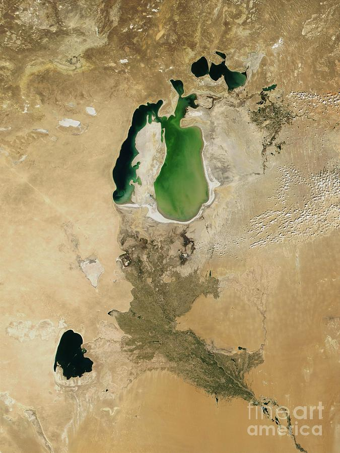 Aral Sea Photograph