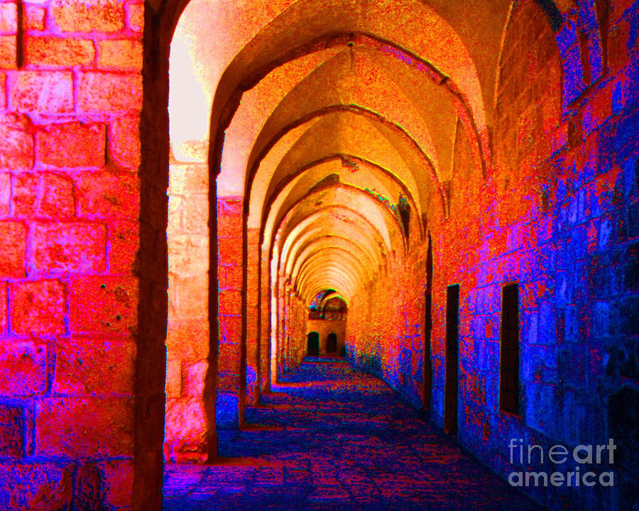 Arches Surreal Photograph  - Arches Surreal Fine Art Print