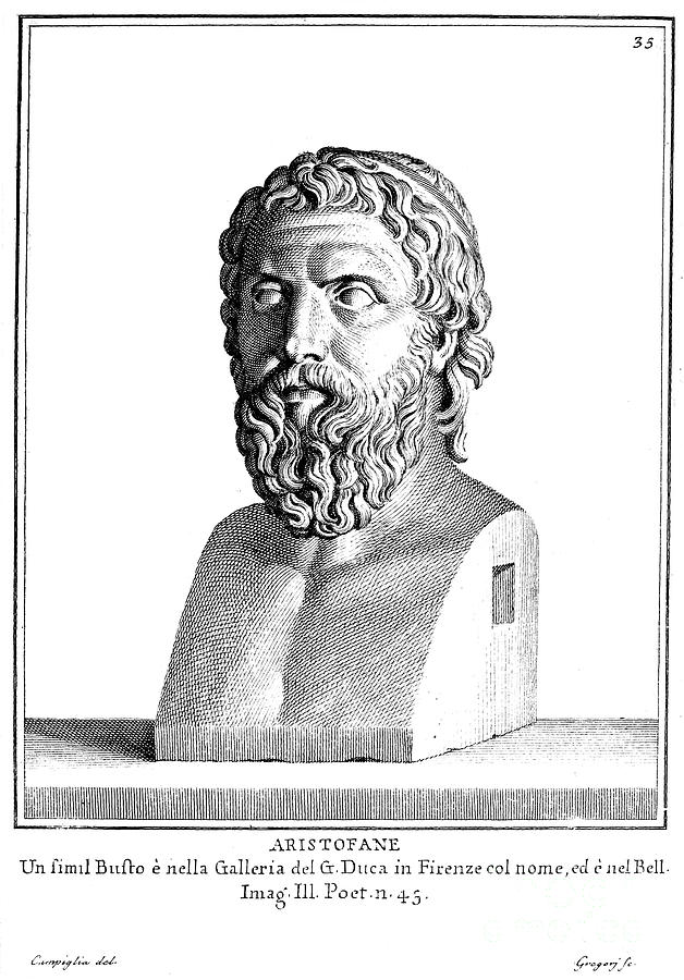 4th Century B.c Photograph - Aristophanes (c450-c388 B.c.) by Granger