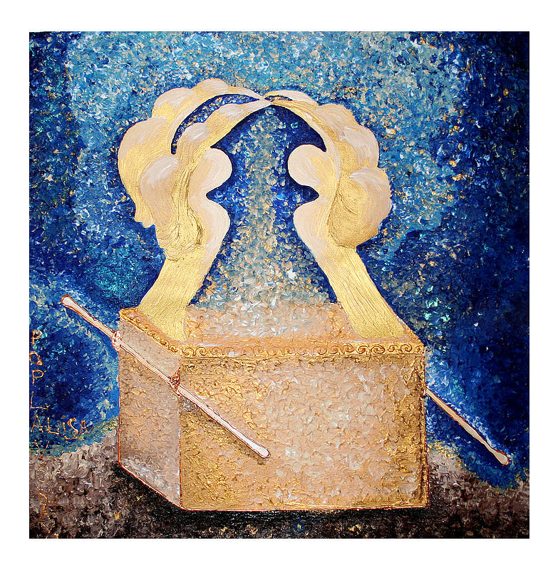 Ark Of The Covenant  Painting  - Ark Of The Covenant  Fine Art Print
