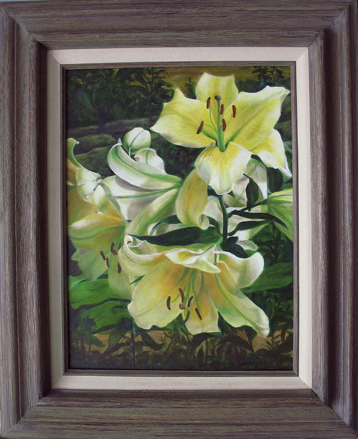 Asiatic Lilies Painting