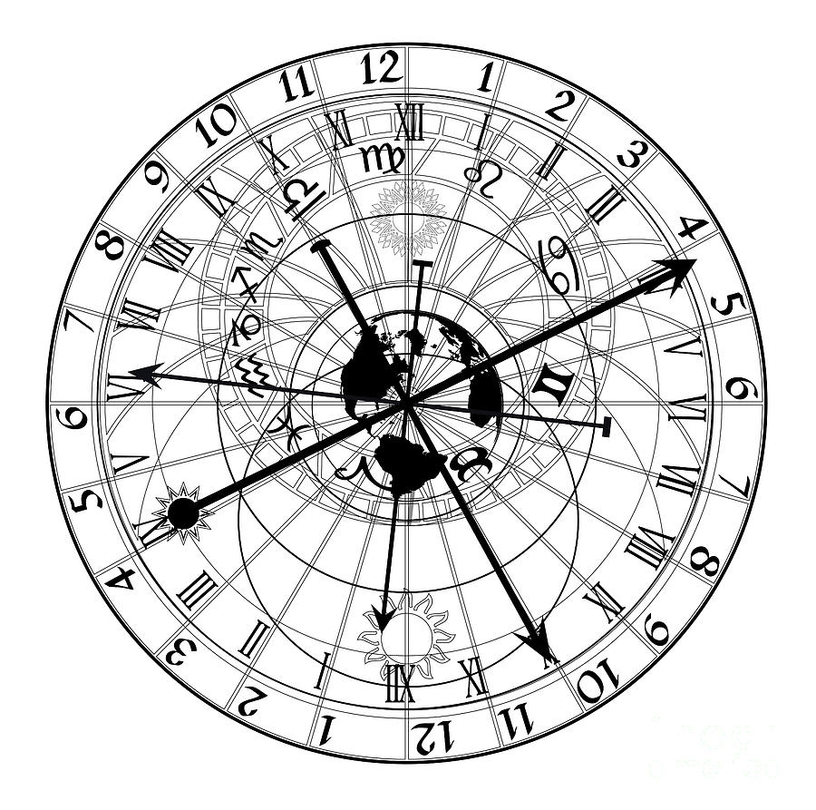 astronomy clock - photo #38