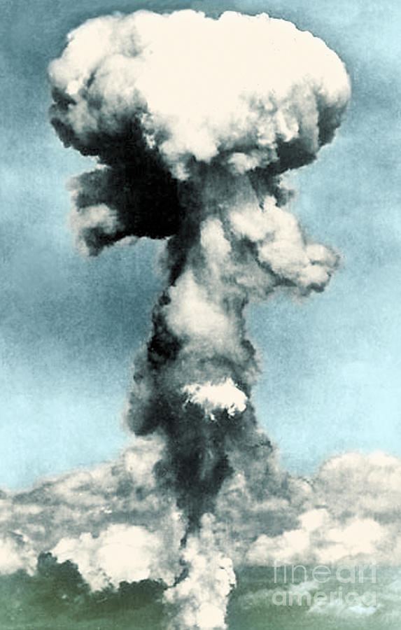 Atomic Bombing Of Nagasaki Photograph