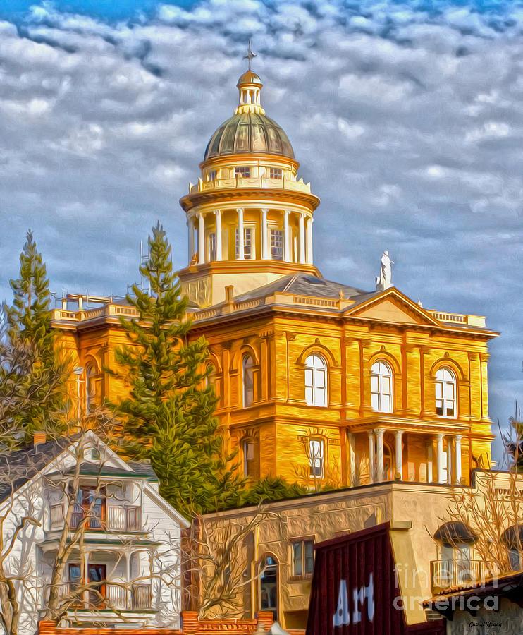 Auburn Courthouse Photograph