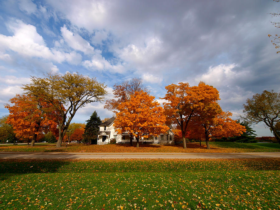 Fall Photograph - Autumn Is Colorful by Paul Ge