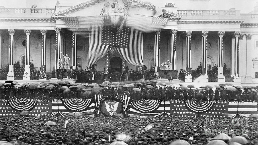B. Harrison Inauguration Photograph