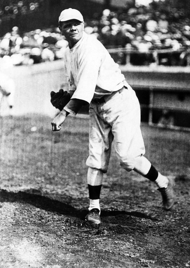 Babe Ruth 1895-1948, American Baseball Photograph
