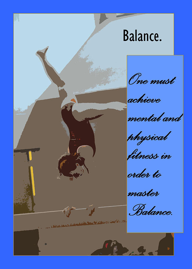 Balance Photograph  - Balance Fine Art Print