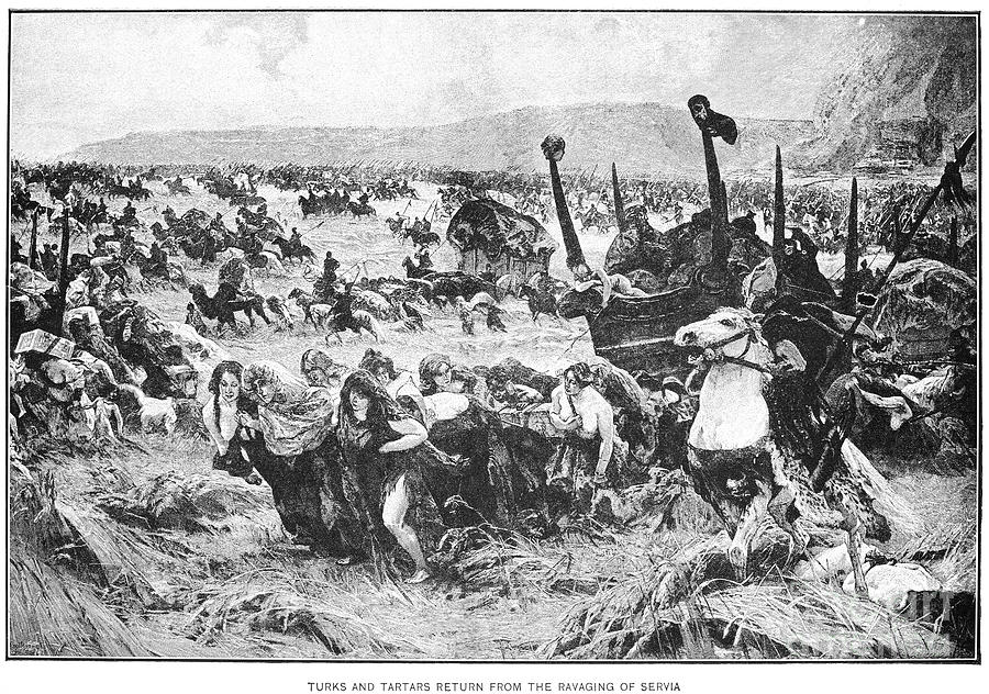 Balkan Insurgency, 1876 Photograph