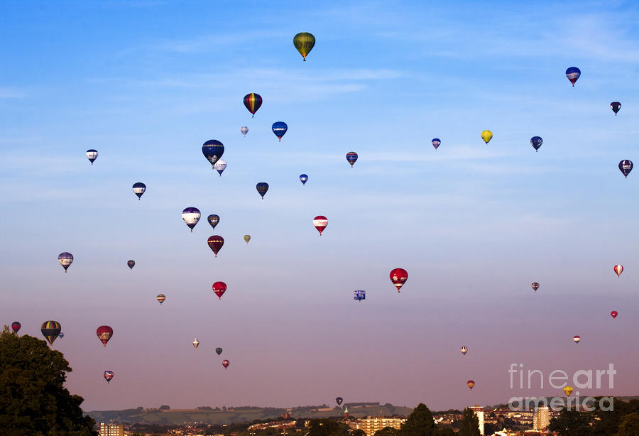 Balloon Fiesta Photograph  - Balloon Fiesta Fine Art Print