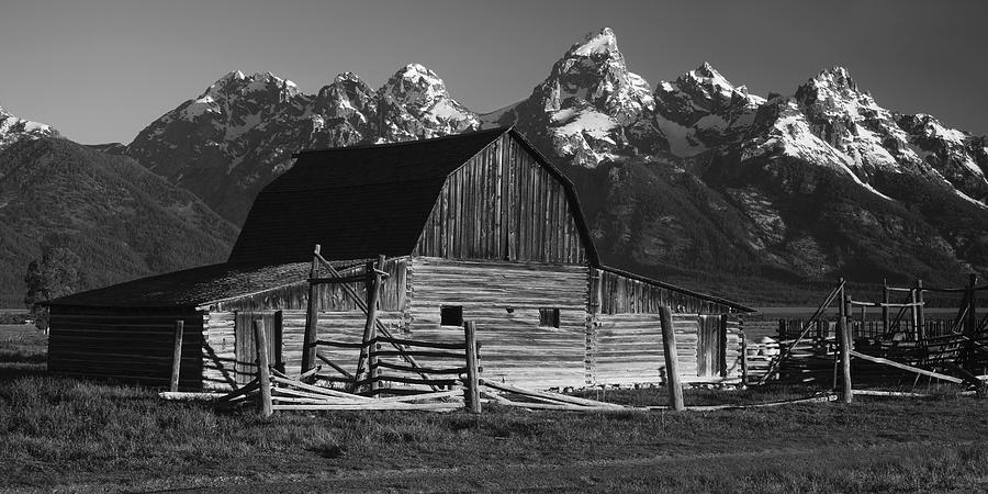 Barn In The Mountains Photograph  - Barn In The Mountains Fine Art Print