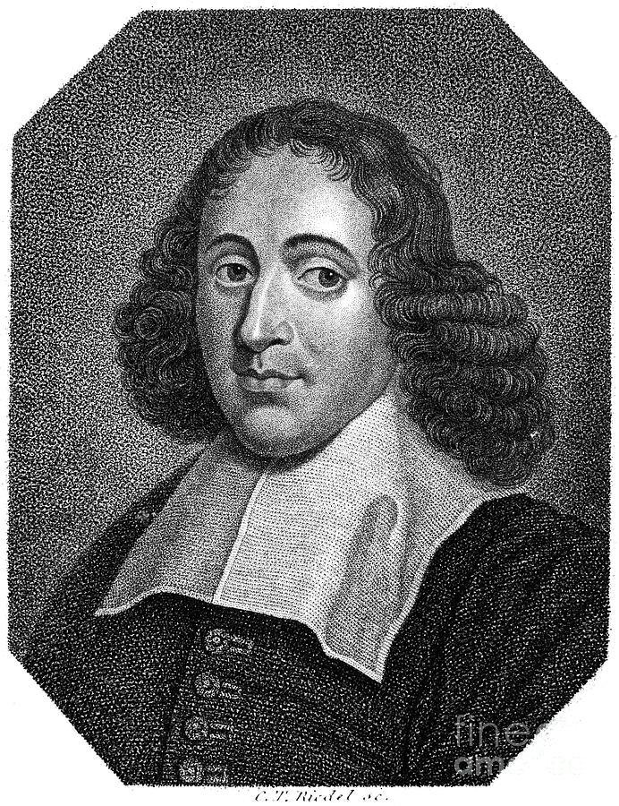 Baruch Spinoza (1632-1677) Photograph