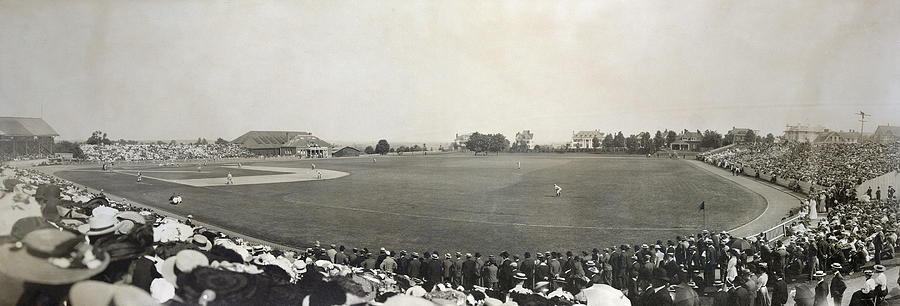 Baseball Game, 1904 Photograph  - Baseball Game, 1904 Fine Art Print