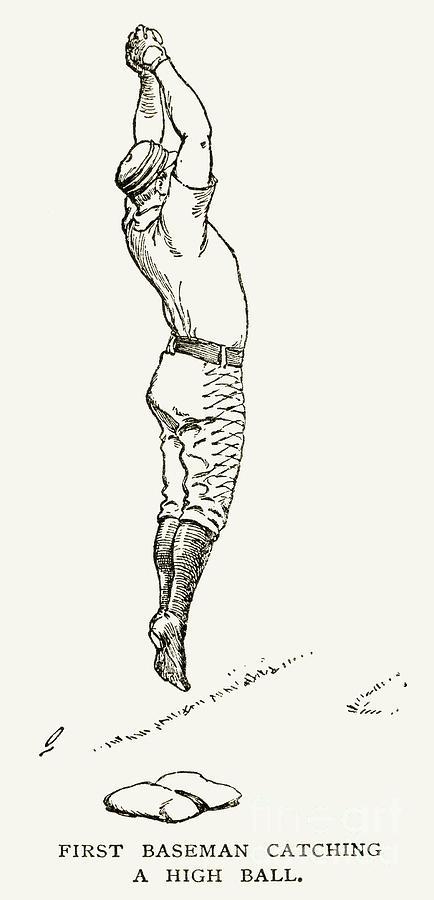 Baseball Player, 1889 Photograph