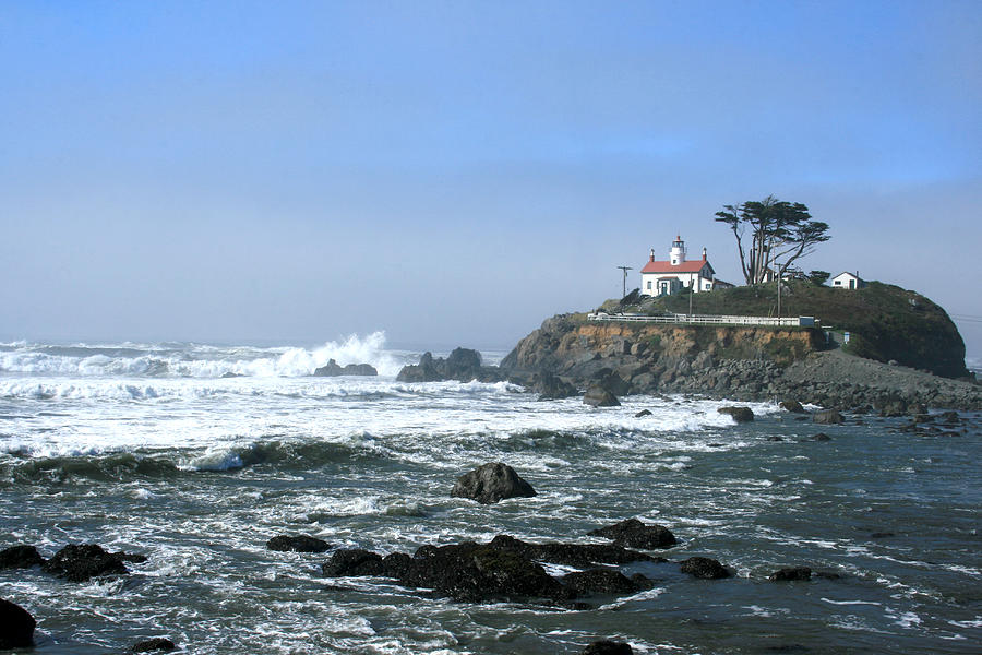 Battery Point Lighthouse Crescent City 1 Photograph  - Battery Point Lighthouse Crescent City 1 Fine Art Print