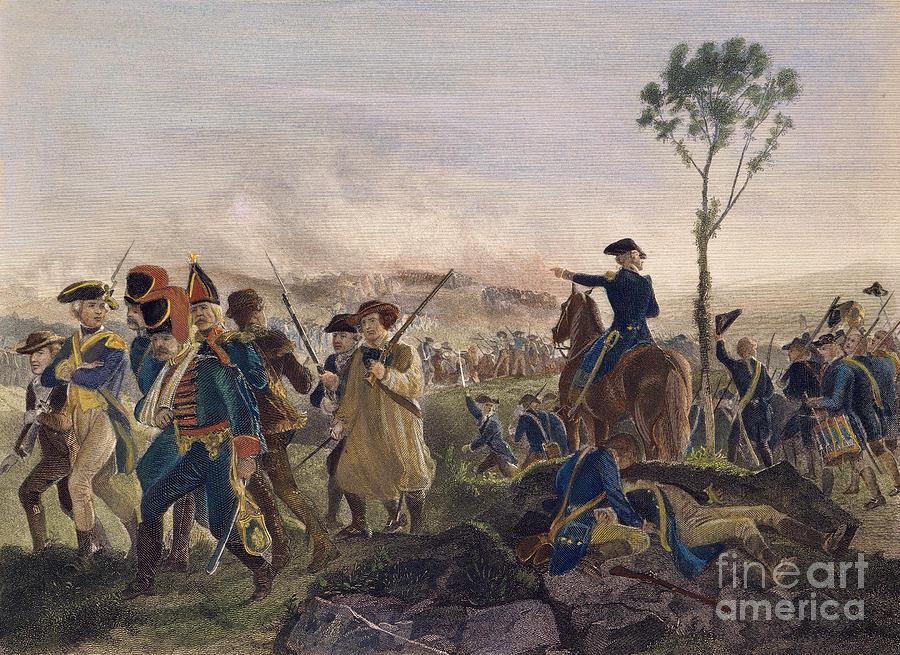 Battle Of Bennington, 1777 Photograph
