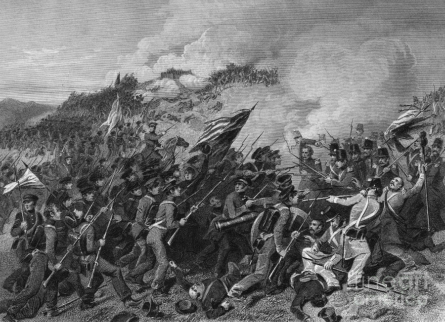 Battle Of Cerro Gordo Photograph