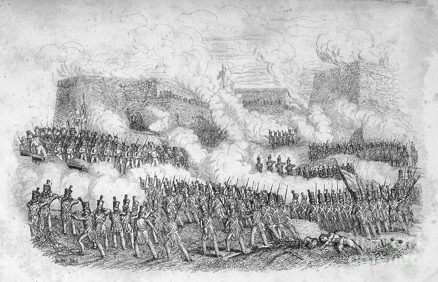Battle Of Monterrey, 1846 Photograph