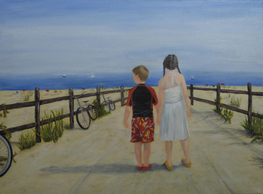 Beach Holiday Painting