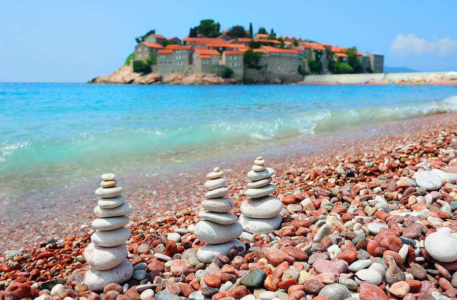 Beach In Montenegro is a photograph by Roman Rodionov which was ...