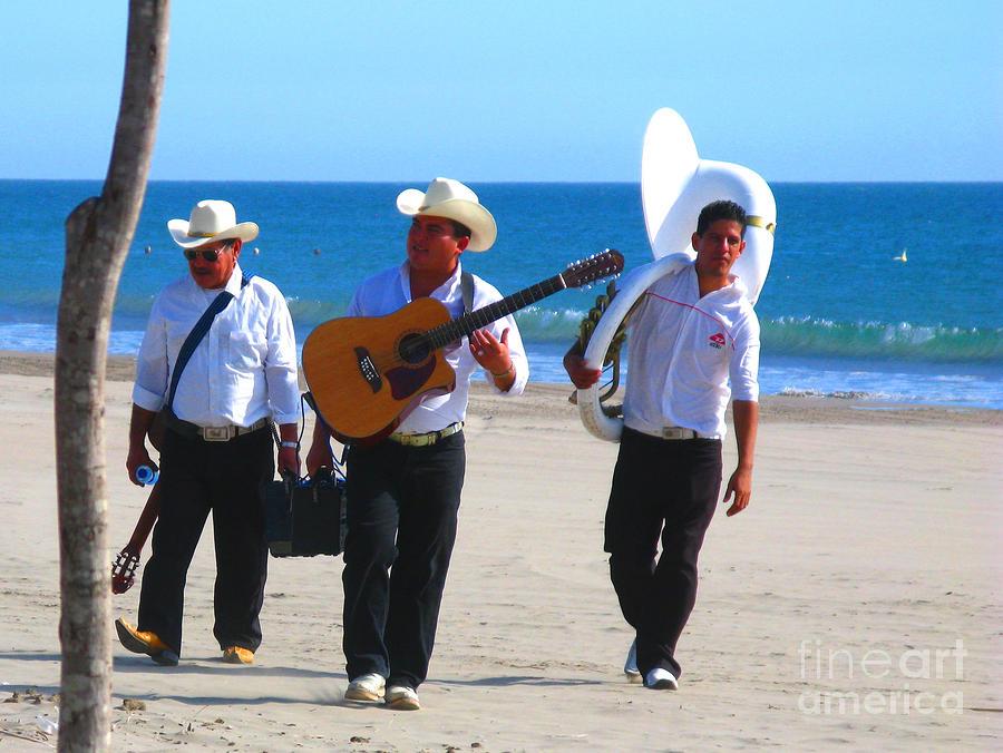 Beach Music By Michael Fitzpatrick Photograph