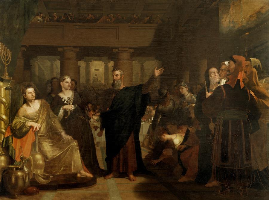 Belshazzars Feast Painting