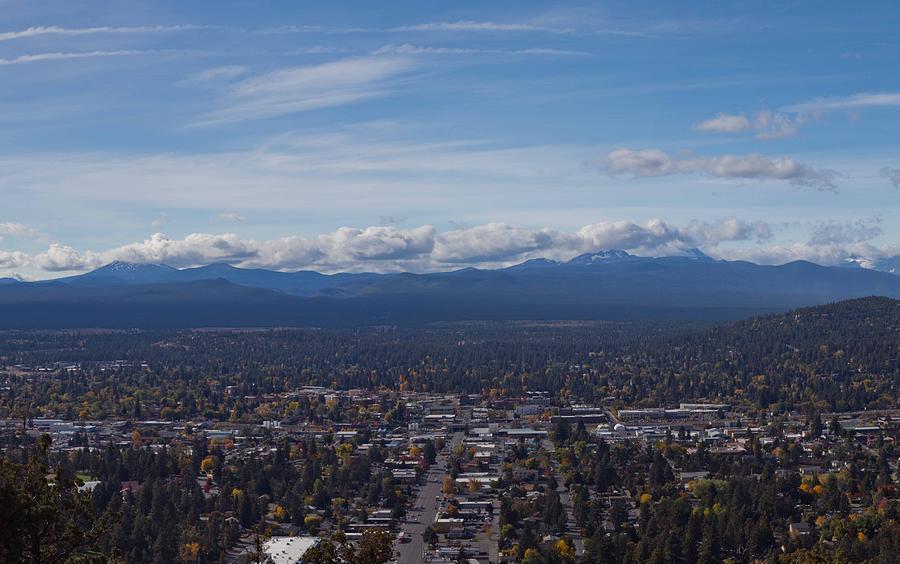 Bend Oregon From Pilot Butte Photograph