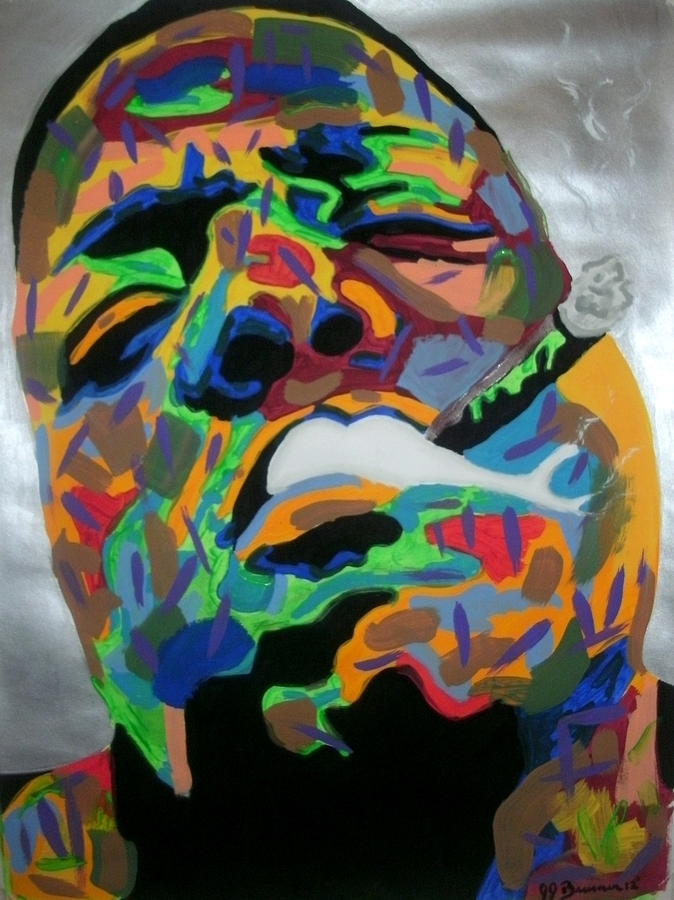 Biggie Painting Image via Fine Art America