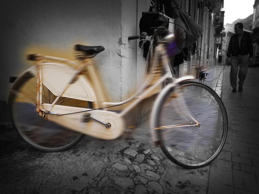 Bike Digital Art - Bike by Charles Stuart