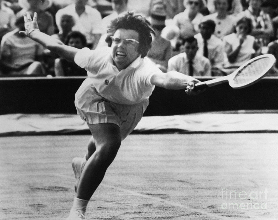 Billie Jean King (1943- ) Photograph