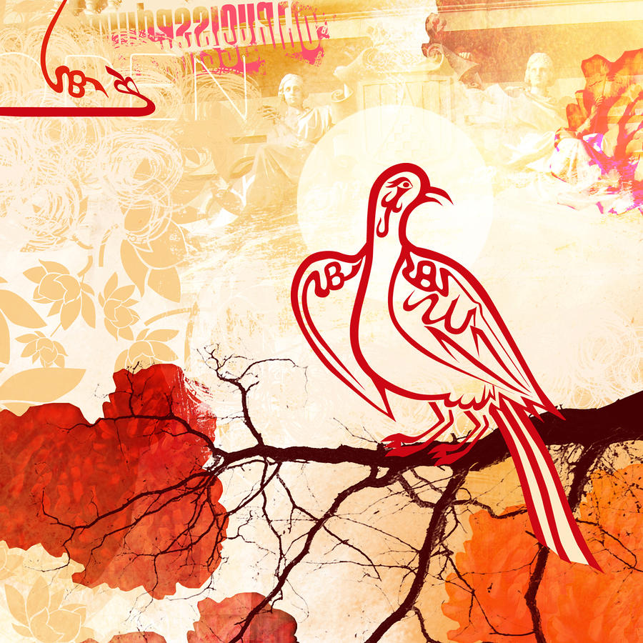 Bird Of Glory 1 Digital Art  - Bird Of Glory 1 Fine Art Print