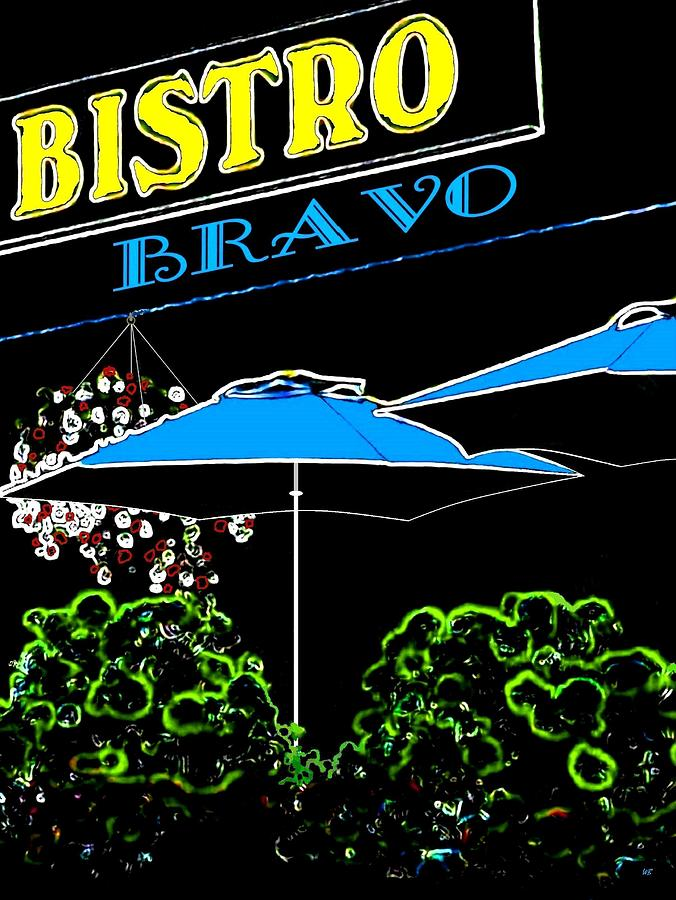 Bistro Bravo Digital Art