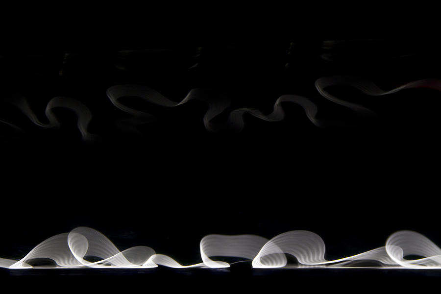 black and white light abstract is a photograph by gabor pozsgai which. Black Bedroom Furniture Sets. Home Design Ideas