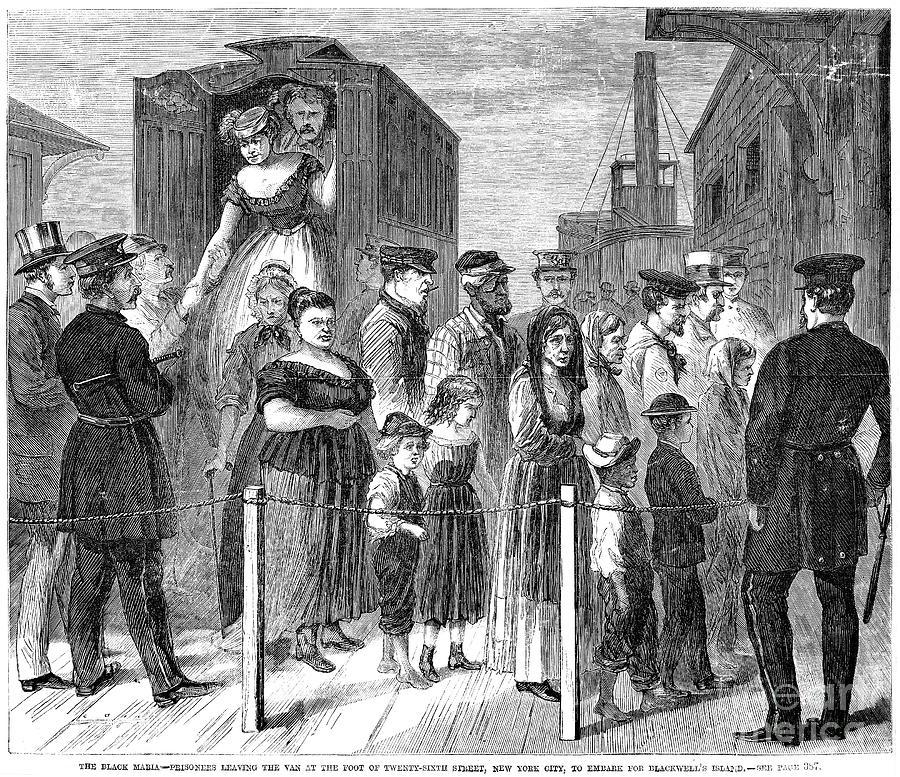 Blackwells Island, 1868 Photograph