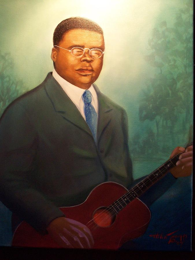 Blind Lemon Jefferson Painting