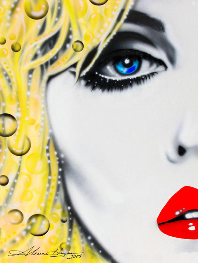 Blondie Painting  - Blondie Fine Art Print