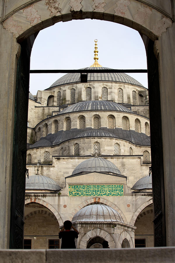 Blue Mosque Photograph