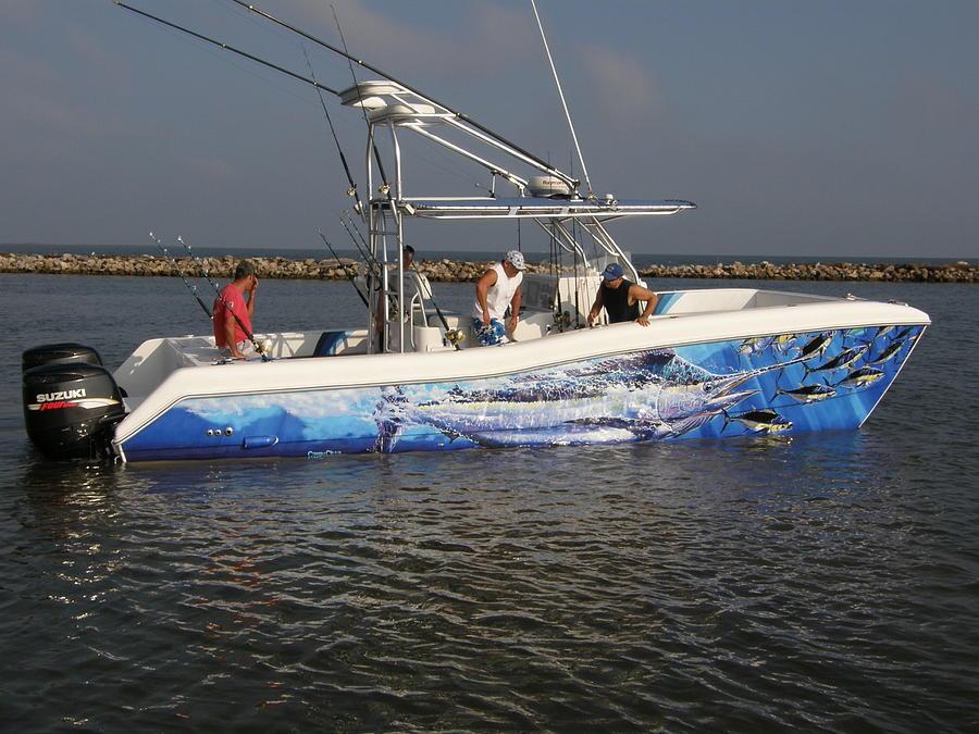 Boat Wraps Digital Art - Boat Wrap by Carey Chen