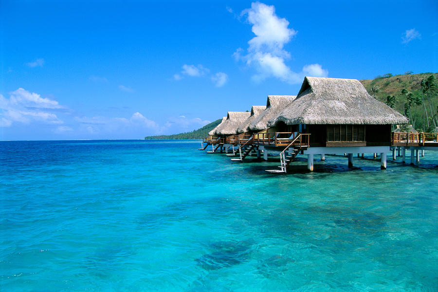 Bora Bora Lagoon Resort by Greg Vaughn - Printscapes: fineartamerica.com/featured/1-bora-bora-lagoon-resort-greg-vaughn.html