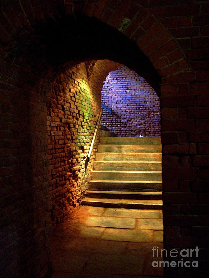 Brick Tunnel Photograph  - Brick Tunnel Fine Art Print