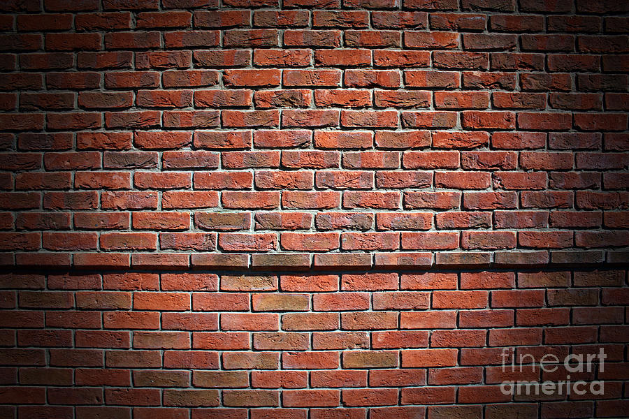 Wall Art For Brick : Brick wall photograph by manuel fernandes