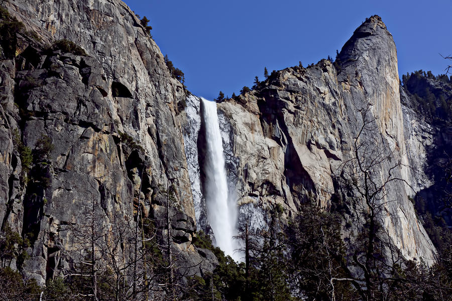 Bridalveil Fall Yosemite Valley Photograph
