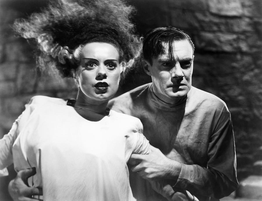 Bride Of Frankenstein, 1935 Photograph  - Bride Of Frankenstein, 1935 Fine Art Print